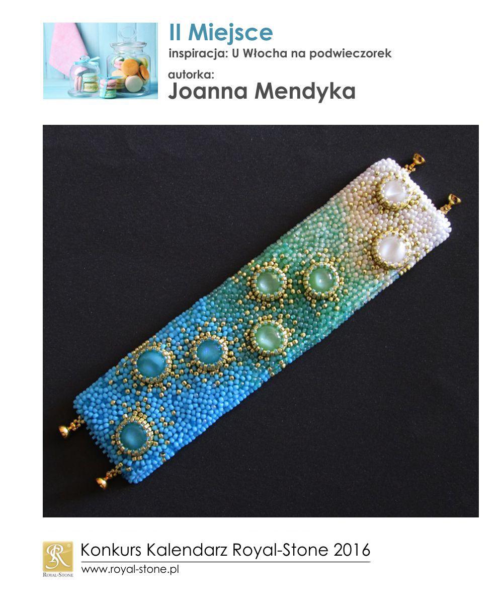 U Włocha II miejsce Joanna Mendyka biżuteria beading Royal-Stone