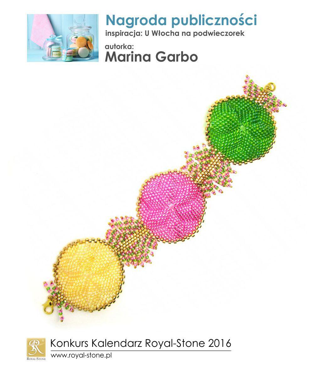 U Włocha na podwieczorek Nagroda publiczności Marina Garbo biżuteria beading Royal-Stone