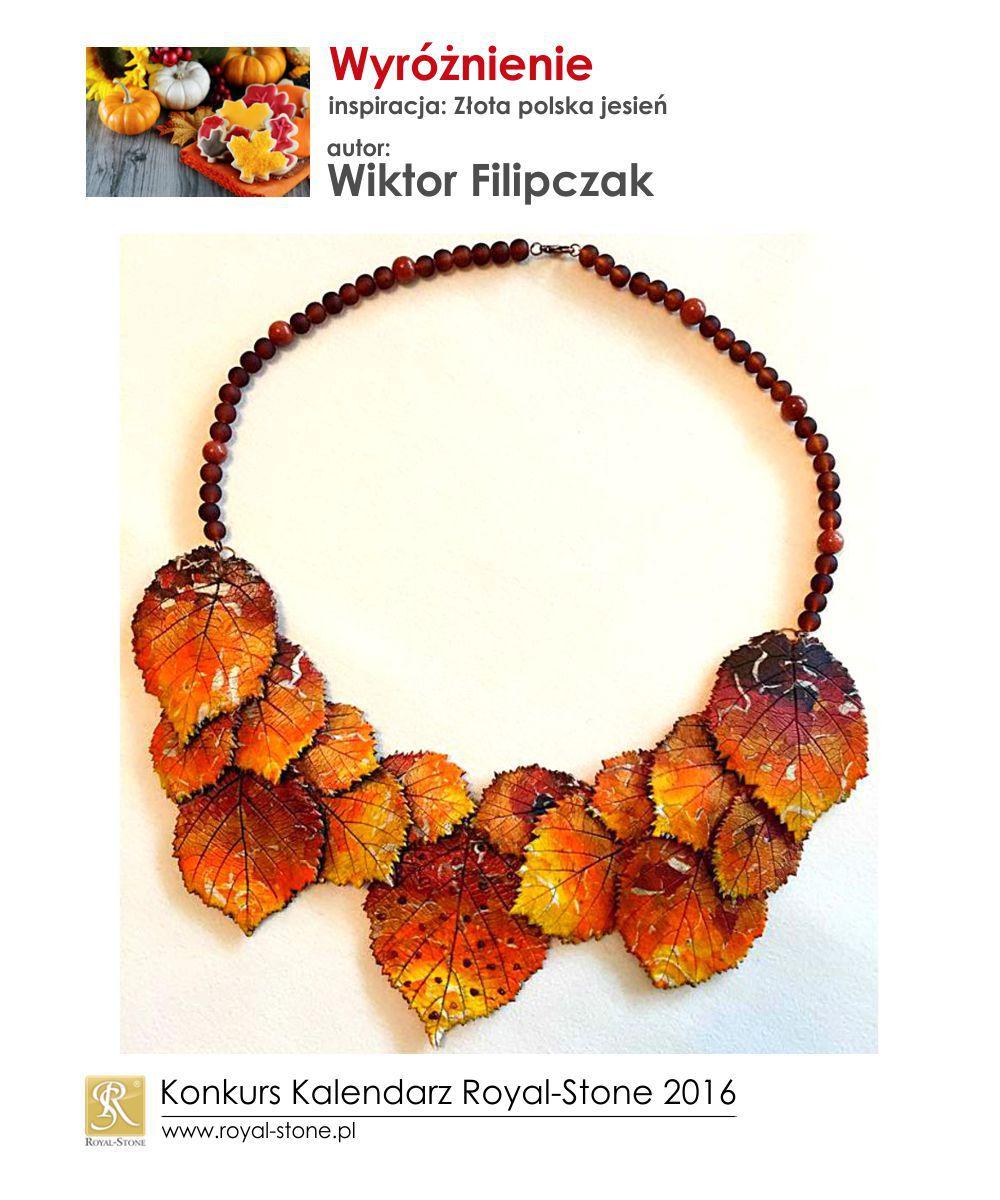 Złota polska jesień wyróżnienie Wiktor Filipczak biżuteria Royal-Stone