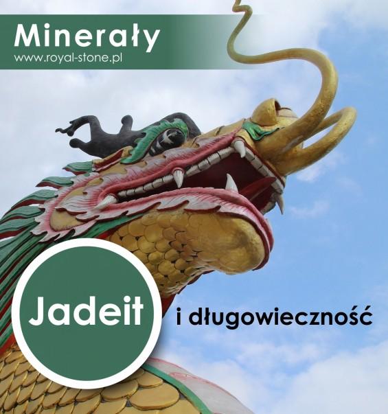 Jadeit i długowieczność yang Royal-Stone okładka tytułowa