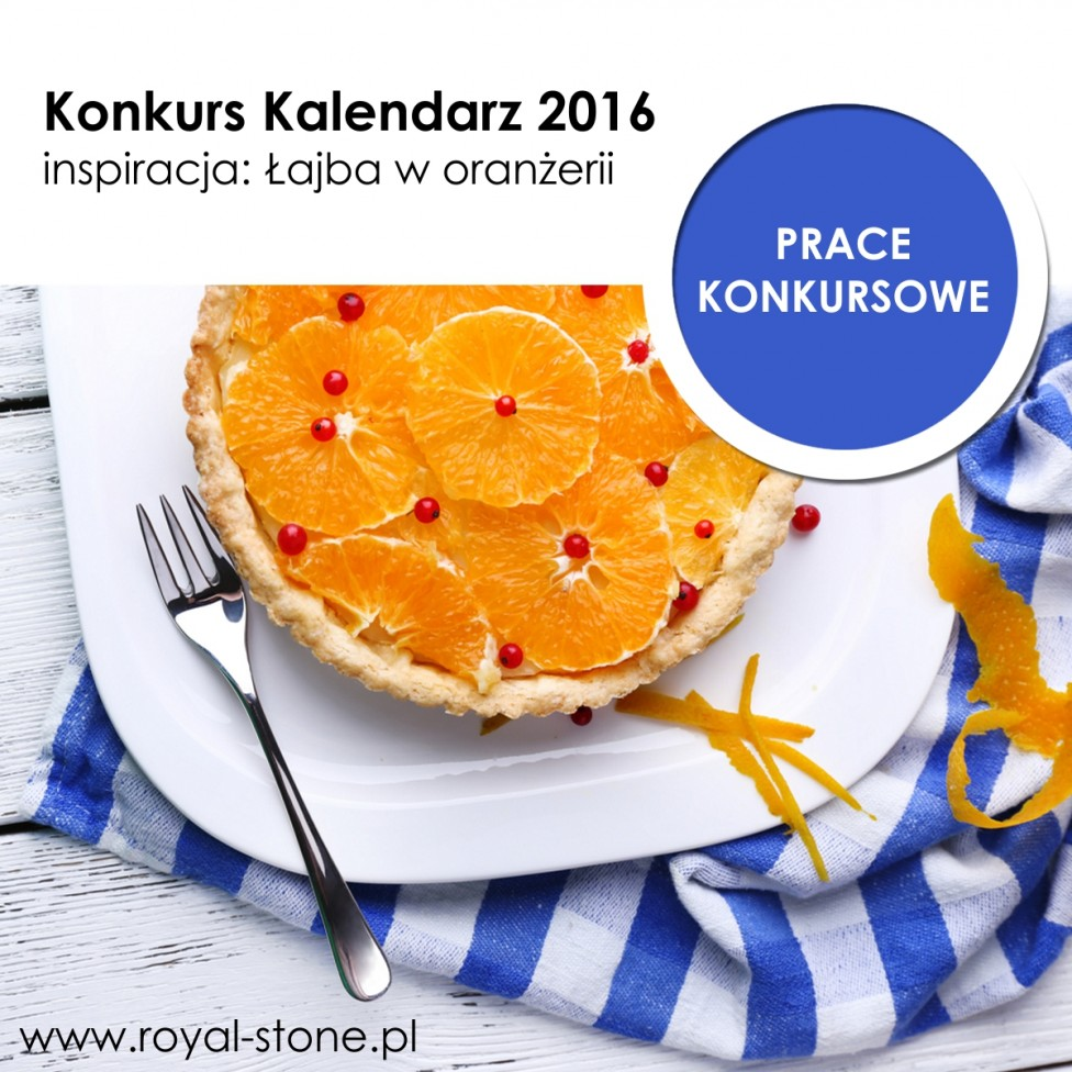 Okładka Łajba w oranżerii Konkurs biżuteryjny Kalendarz Royal Stone 2016