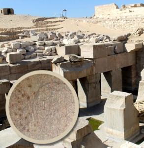 Egipt Świątynia Ozyrysa Abydos Flower of life Kwiat życia