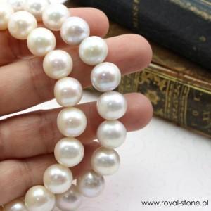 Perły białe kremowe Royal-Stone