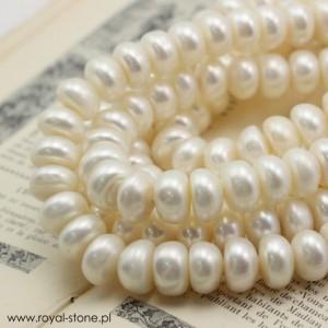 Perły kremowe białe Royal-Stone