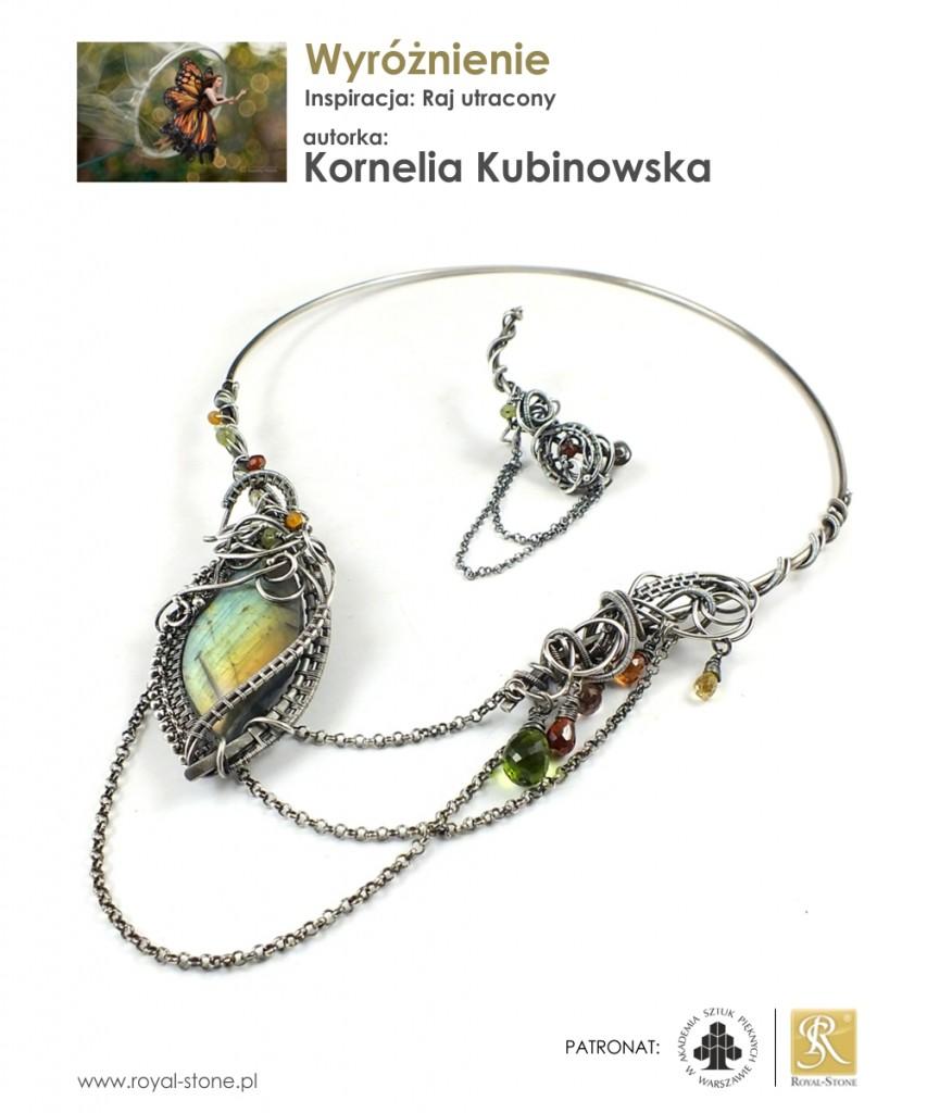 10_wyróżnienie_K_Kubinowska_Raj_utracony_wire-wrapping