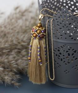 Koralikowa czapeczka z Round Beads