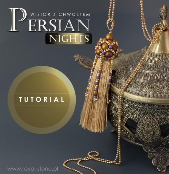 Persian nights koralikowa czapeczka z Round Beads