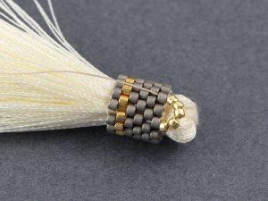 Fleur - kolczyki z chwostem tutorial