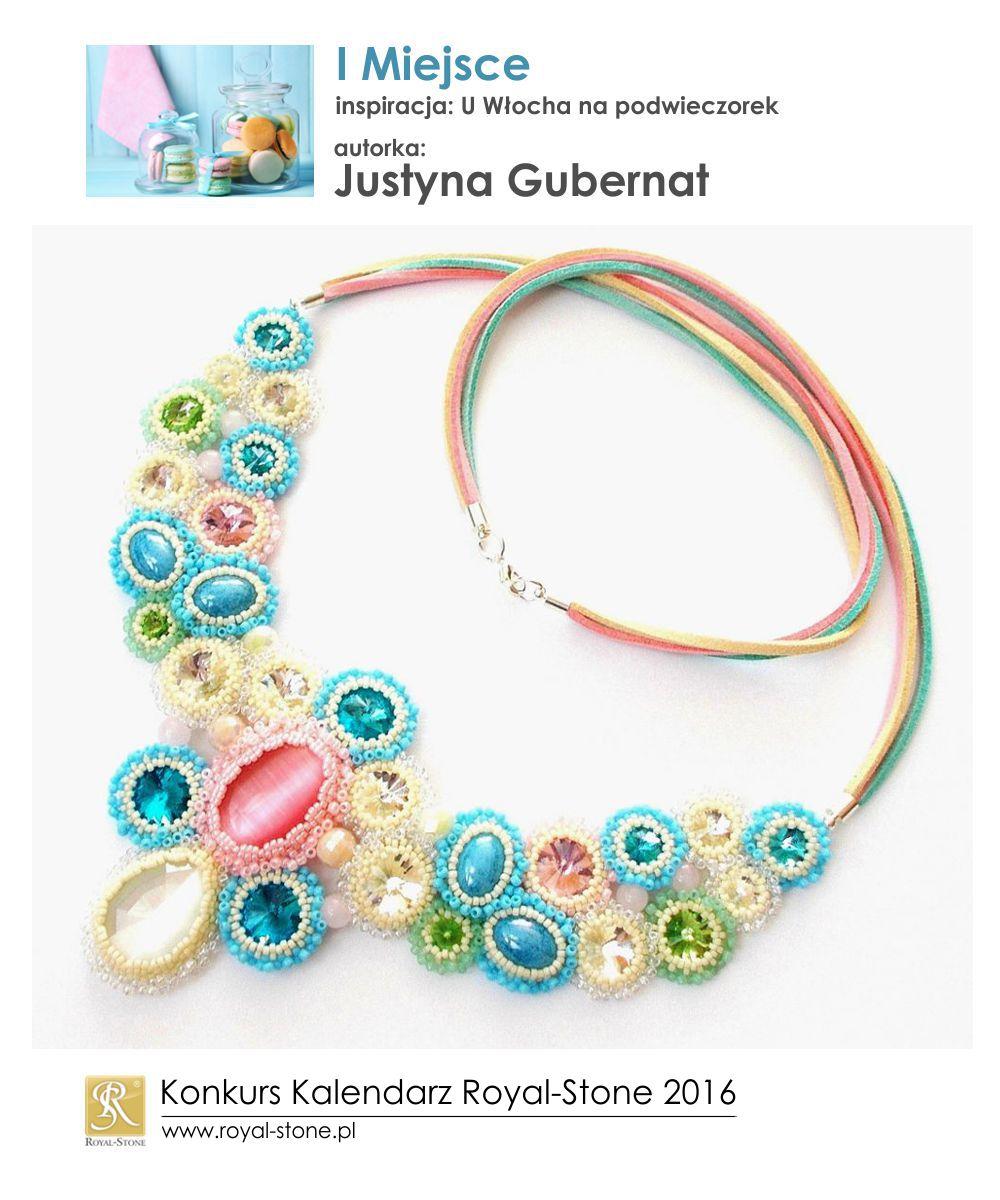 U Włocha I miejsce Justyna Gubernat biżuteria beading Royal-Stone