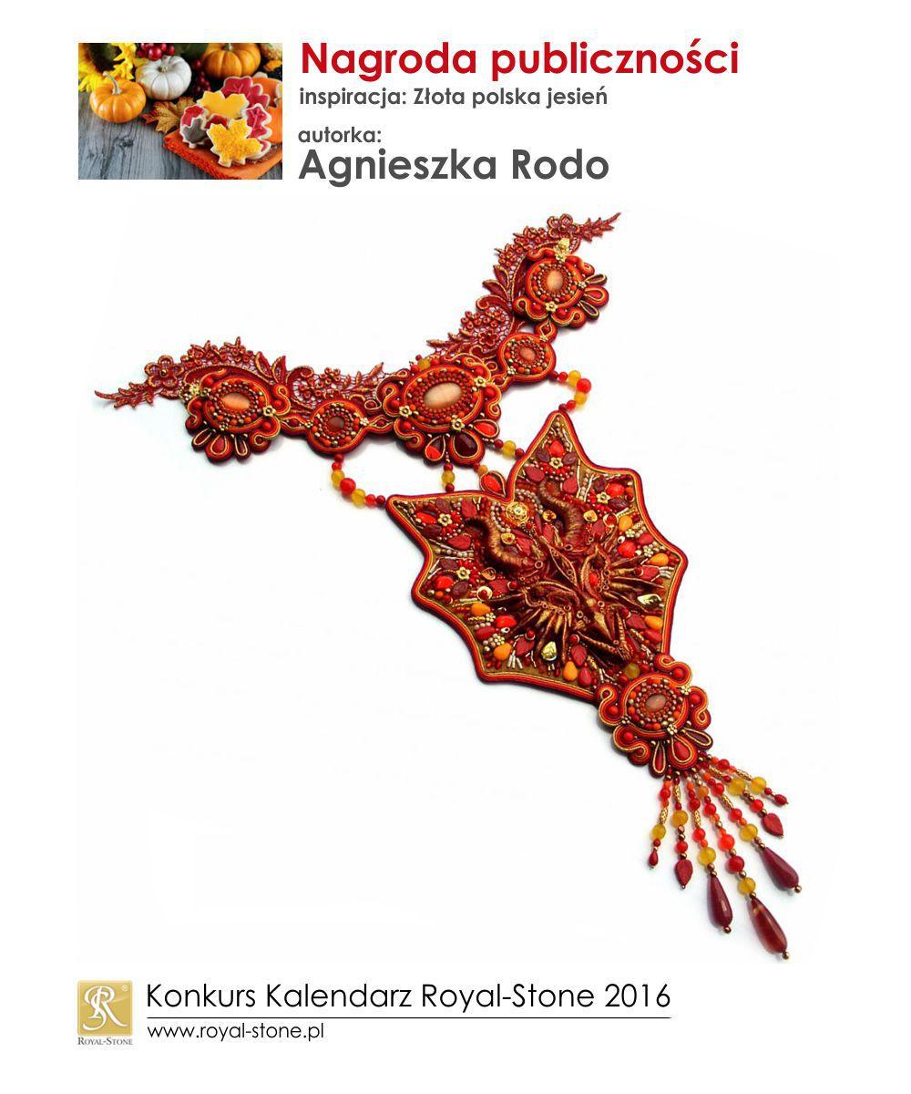 Złota polska jesień nagroda publiczności Agnieszka Rodo biżuteria sutasz soutache Royal-Stone