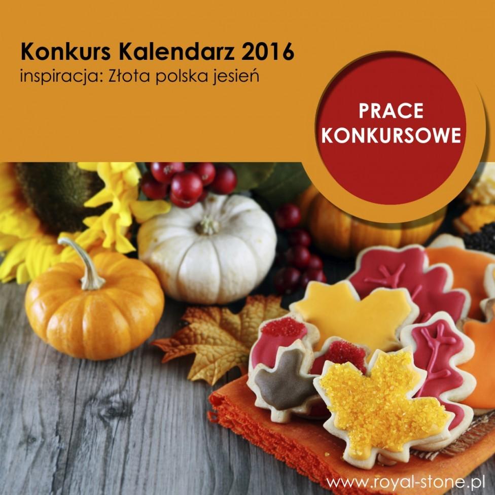 Okładka Złota polska Jesień Konkurs Kalendarz Royal-Stone 2016