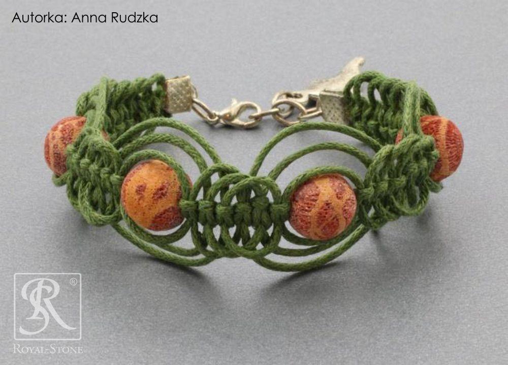 02a Royal-Stone branspoletka z makramy Anna Rudzka