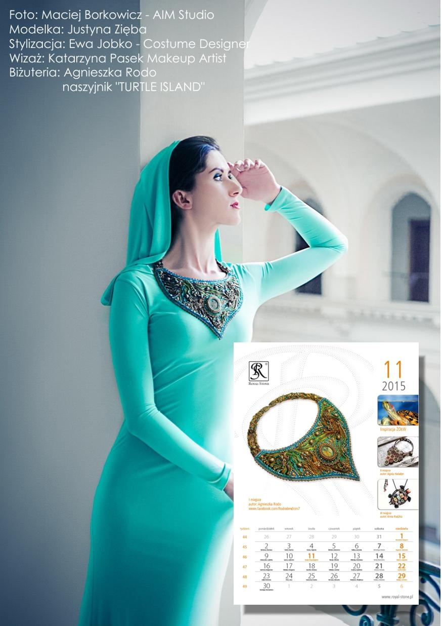 01 Agnieszka Rodo Turtle Island - Kalendarz Royal-Stone 2015
