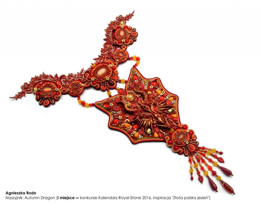 05 Agnieszka Rodo Autumn Dragon  Kalendarz Royal-Stone 2016