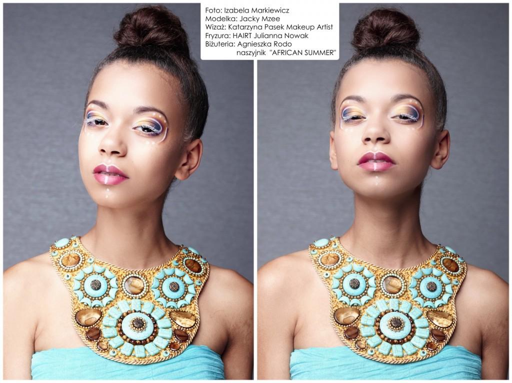 09 Agnieszka Rodo Africa Summer Kartka z kalendarza Royal-Stone
