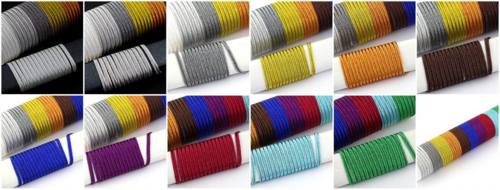 Sutasz metalizowany FX - kolory