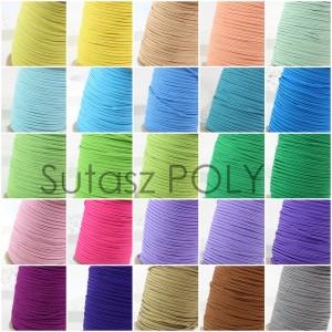 Paleta kolorów sznurków poliestrowych