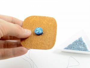 Royal-Stone Izziland tutorial kolczyki