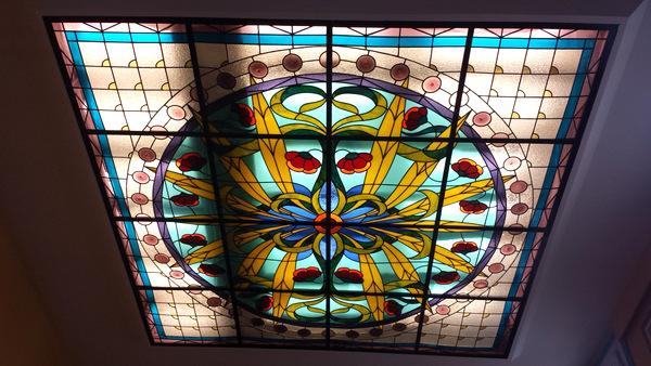 Witraż Art Nouveau