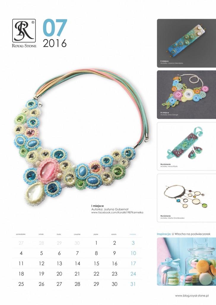 Kalendarz_Royal-Stone_2016_Lipiec