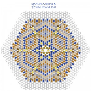 MANDALA DUŻA 01 schemat