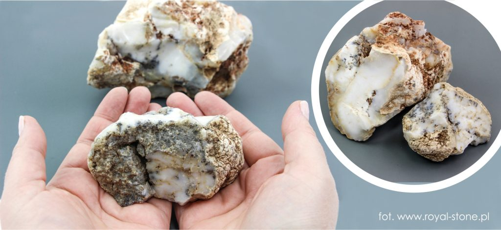 Agat surowe bryły minerału