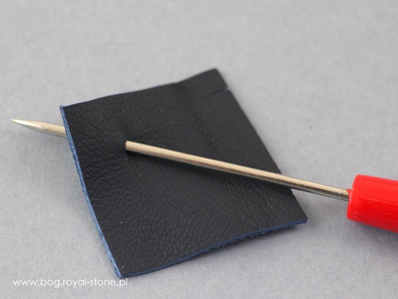 Anemon beadingowe kolczyki na sztyftach - tutorial
