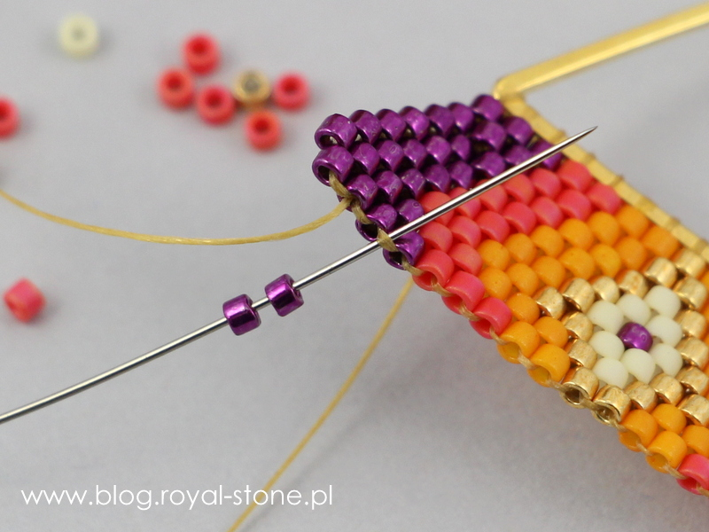 Kolczyki brick na trókątach geometrix.