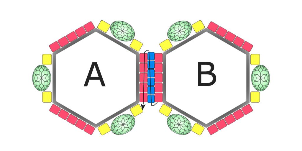Tetraedro - geometryczna zawieszka na bazach geometrix- tutorial