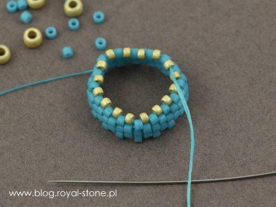 Margaretta - wisior z koralikami Dagger - tutorial royal-stone.pl