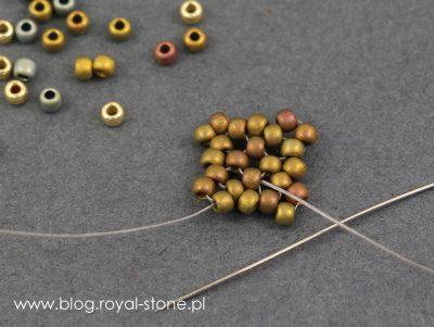 Dracconis - smocze kolczyki tutorial royal-stone