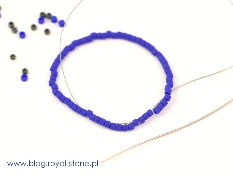 Aurora Borealis - wisir z koralików - tutoial royal-stone.pl