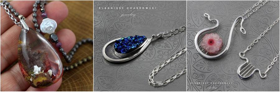 Biżuteria z kwarcem