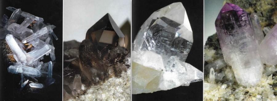 kryształy kwarcu