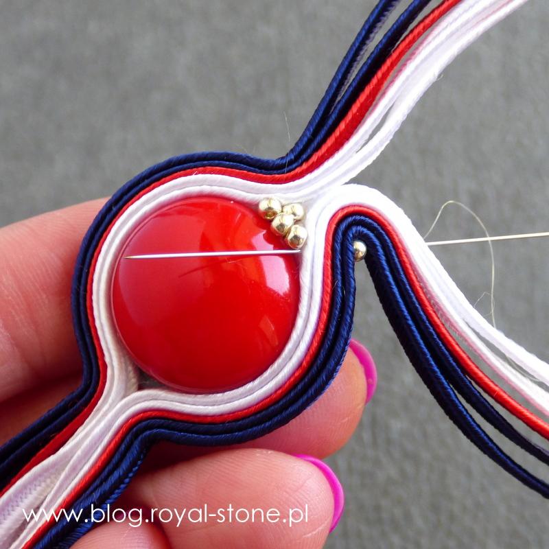 Letnie marzenie - bransoletka sutasz- tutorial autorstwa Ewy Genge dla royal-stone.pl