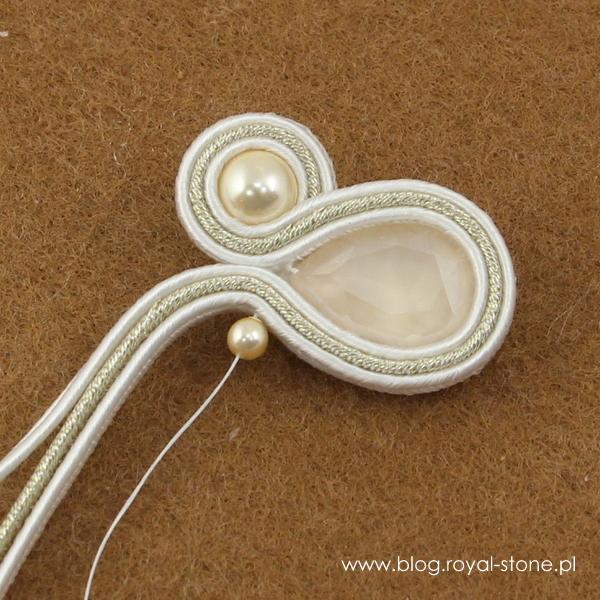 Cream crystal pearl 6mm i cream crystal pearl 3mm Swarovsli crystal pearls