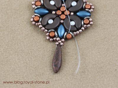 Marrakech - kolczyki z Arcos, Minos, Iris Duo i O-Bead