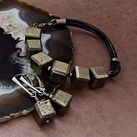 Piryt biżuteria