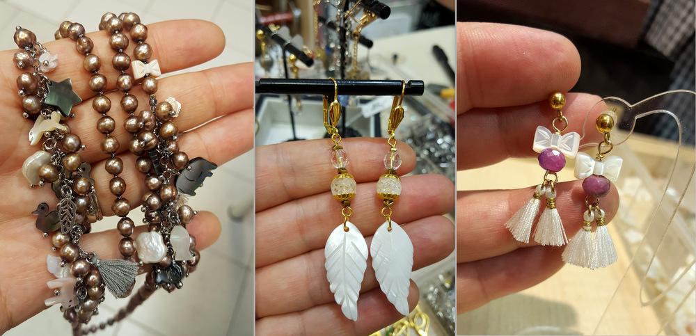 Biżuteria z masą perłową