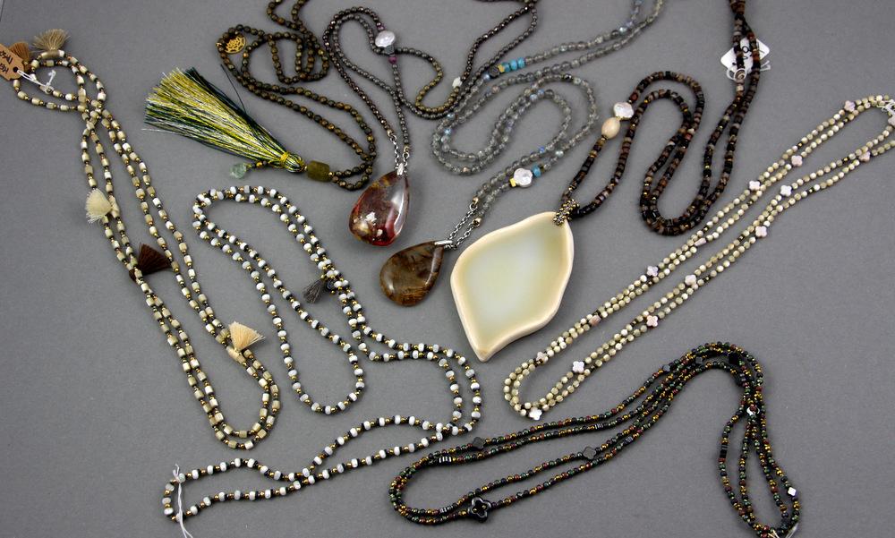 Naszyjniki z masy perłowej