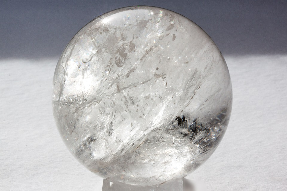 kryształ górski kula
