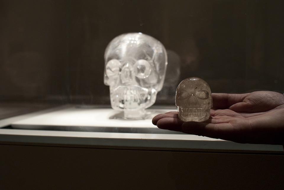 kryształowa czaszka