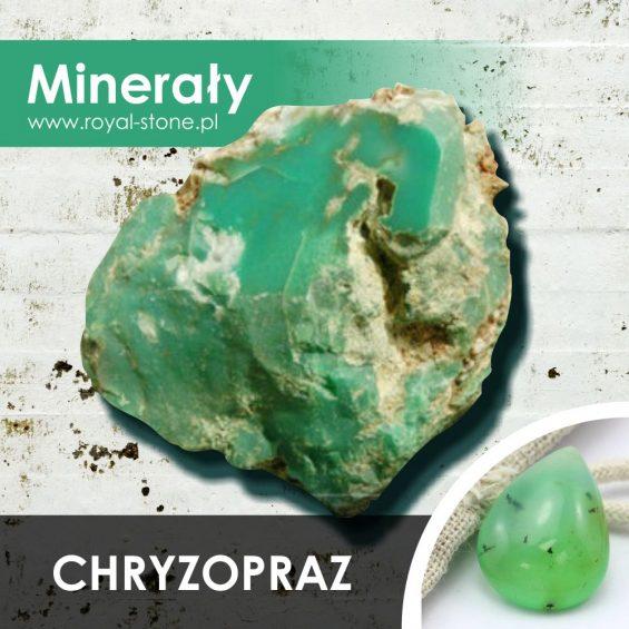 Chryzopraz minerał