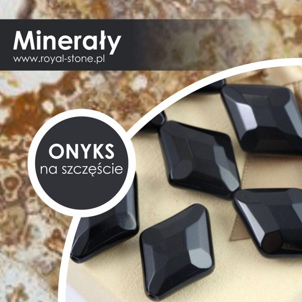Onyks – czarny kamień przynoszący szczęście