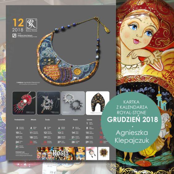 Kartka z Kalendarza biżuteryjnego Royal-Stone 2018