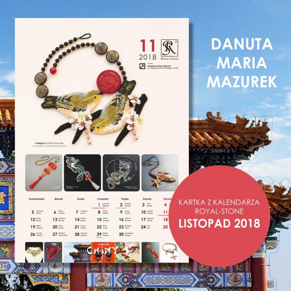 Konkurs Kalendarz Royal-Stone 2018 - Chiny