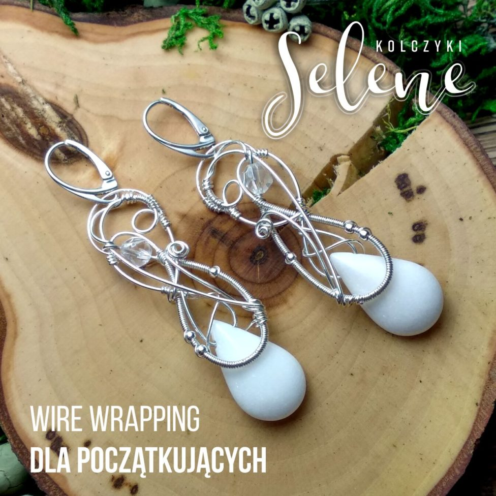 Tutorial n kolczyki wire wrapping