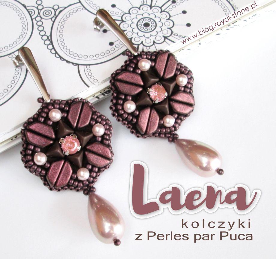 Laena – kolczyki z Super Kheops i Tinos par Puca