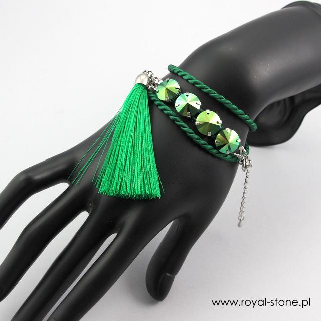 Bransoletka na sznurku z chwostem
