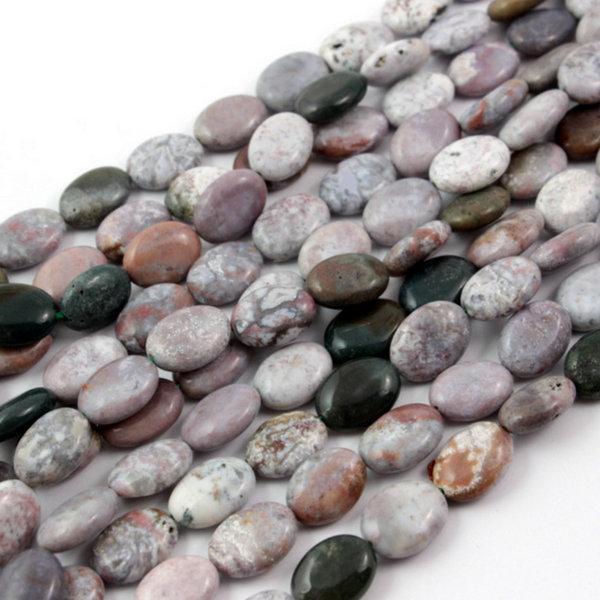 kamień agat indyjski z zielenią